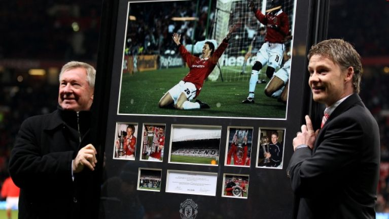 Ole Gunnar Solskjaer dismisses myth about football's most famous knee slide celebration