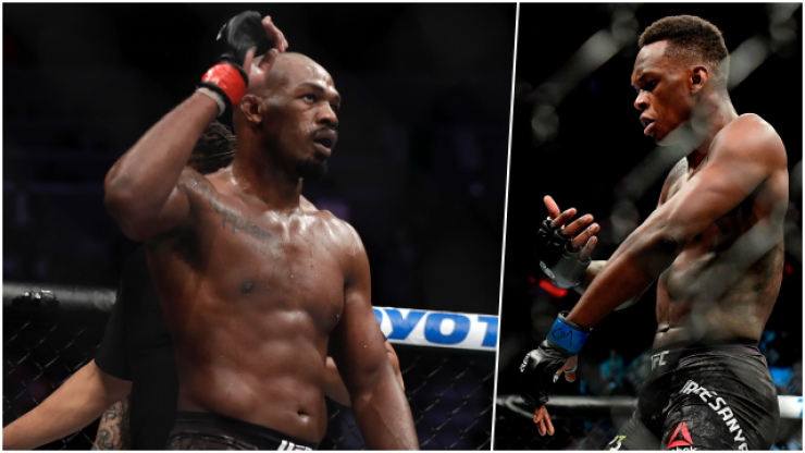 Jon Jones deletes several tweets aimed at Israel Adesanya