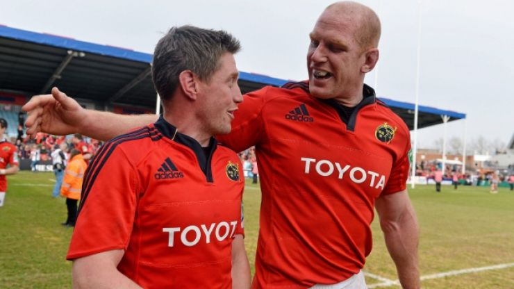 Johann van Graan refuses to rule out Munster return for Paul O'Connell and Ronan O'Gara