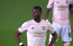 Paul Pogba's reaction to Lionel Messi's stunning goal sums up the Barcelona icon's genius