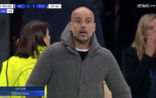 Manchester City's celebrations of disallowed goal are an incredible watch
