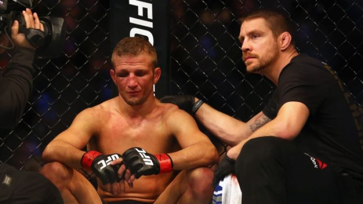 Coach and nutritionist release statements after TJ Dillashaw's failed drug test