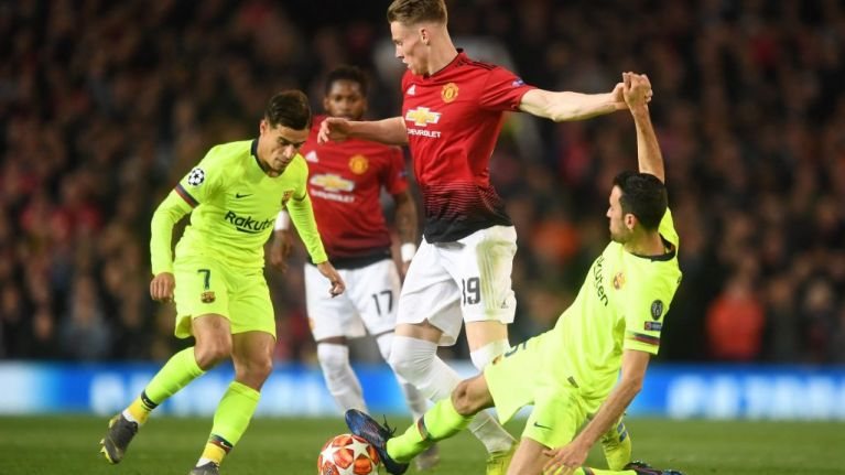 Manchester United fans change their minds about Scott McTominay despite defeat to Barcelona