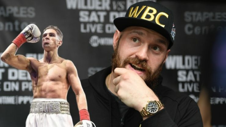 Limerick's Lee Reeves grateful for glowing praise from Tyson Fury