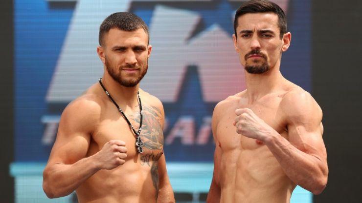 Glove dispute kicks off at Lomachenko vs. Crolla weigh-in