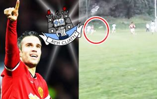 Robin Van Persie would be proud of left footed volley scored in Dublin championship
