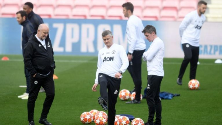 Ole Gunnar Solskjaer switches location of training prior to Manchester derby