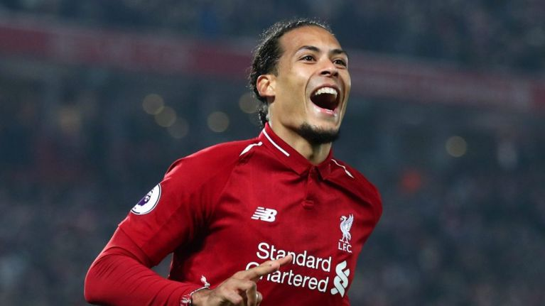 best loved cd6c4 4c0e4 Liverpool's Virgil Van Dijk will be named PFA Players ...