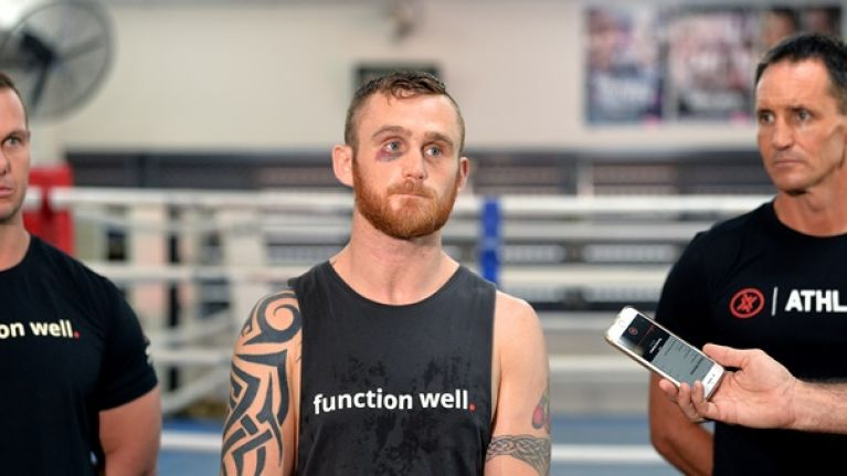 Dennis Hogan's camp calls for rematch after world title loss is rescored