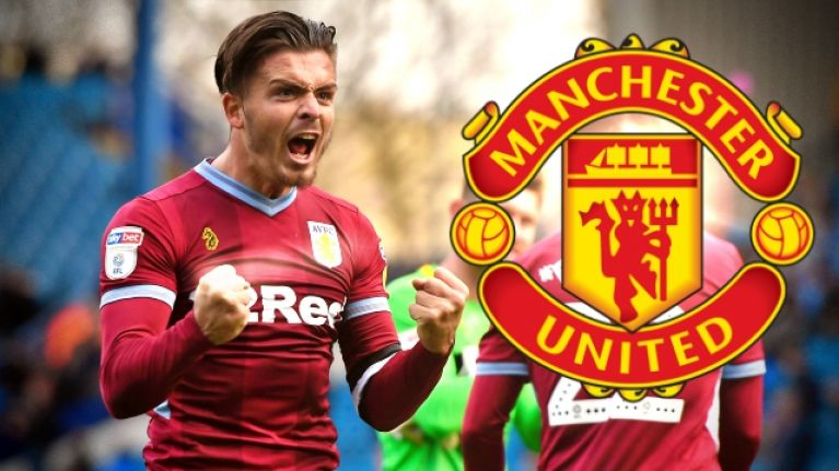 Man United linked with summer swoop for Jack Grealish