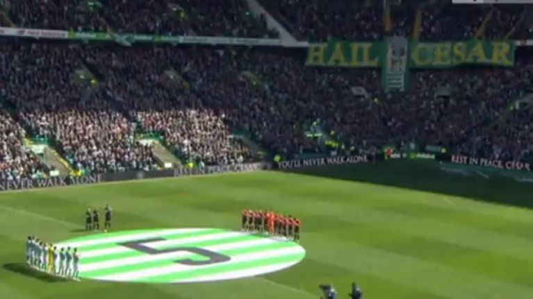 Celtic fans offer moving tribute to former captain Billy McNeil