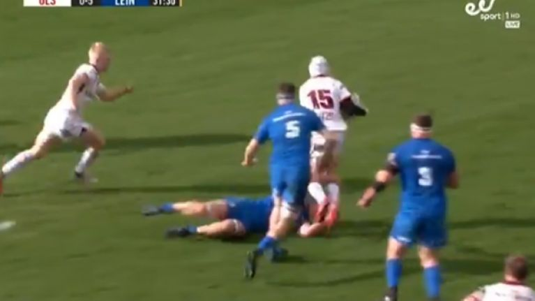 David Shanahan finishes off fantastic Ulster team try