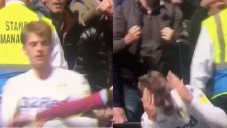 Patrick Bamford hammered for theatrics that led to Anwar El Ghazi red card