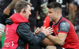 Conor Murray comments on neck injury help explain why he was not risked against Connacht