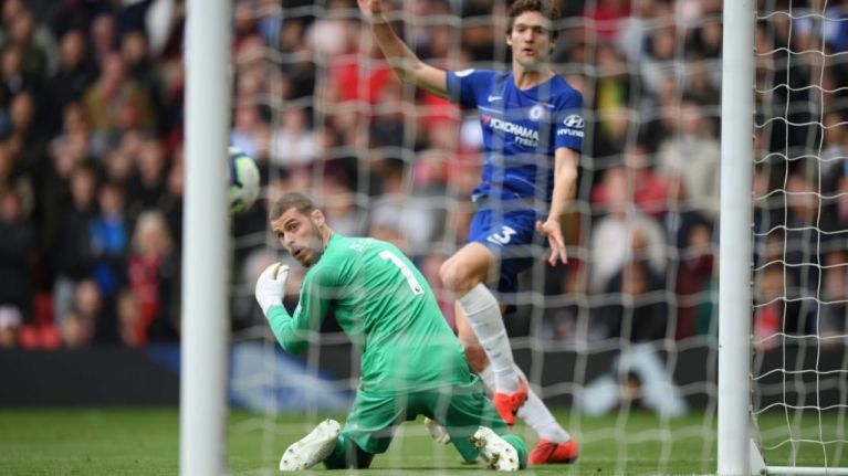 Another De Gea clanger sabotages Manchester United top four ambition