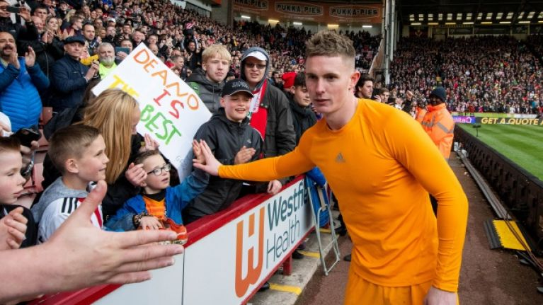 On-loan goalkeeper Dean Henderson doesn't want to return to Manchester United next season