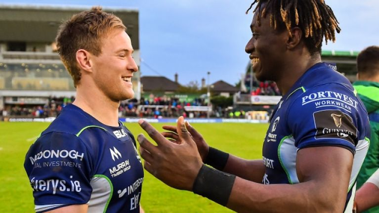 Kieran Marmion the fastest player in Connacht history and it'll take some beating