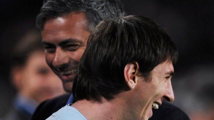 Jose Mourinho explains what Manchester United did wrong with Lionel Messi