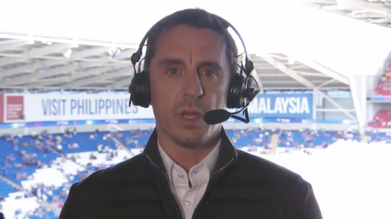 Furious Gary Neville blasts embarrassing Manchester United players
