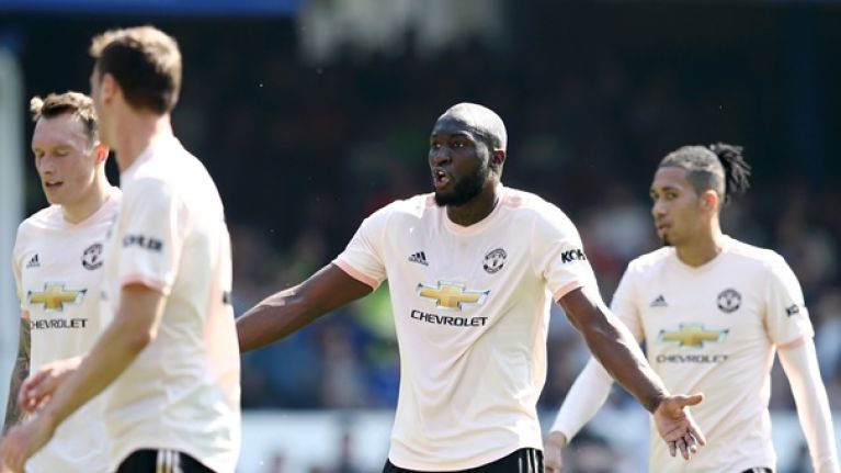 Lukaku got a cruel reception from Everton fans on his return to Goodison Park