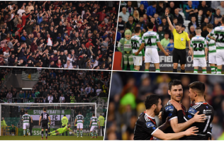 Brilliant Dublin derby between Shamrock Rovers and Bohemians had absolutely everything