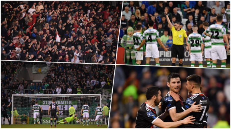 6fb346ff4c0 Brilliant Dublin derby between Shamrock Rovers and Bohemians had absolutely  everything