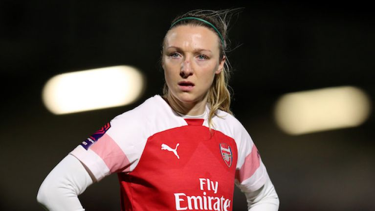 """To be a champion with a team like Arsenal... it's very surreal"" - Louise Quinn"