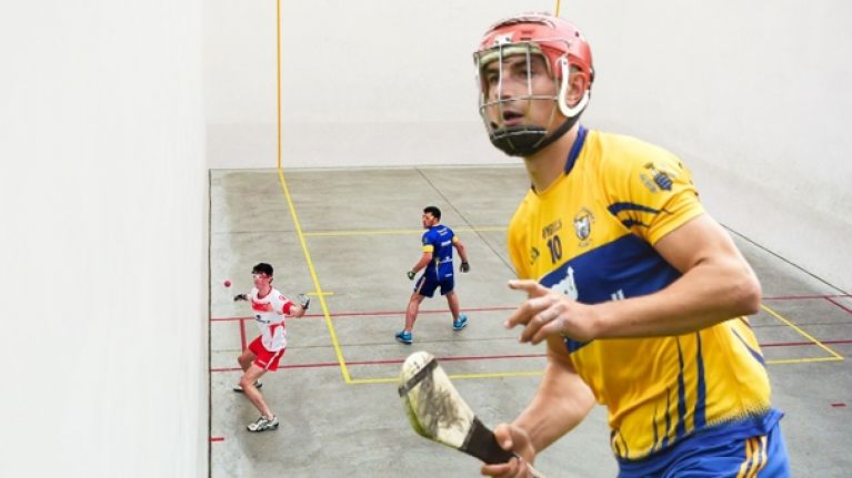 """It's unreal for your hurling"" - handball background standing Duggan in good stead"