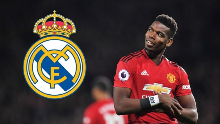 Paul Pogba is reportedly determined to join Real Madrid this summer