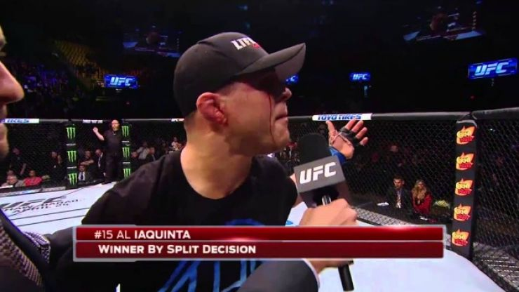 Al Iaquinta reveals the rule that the UFC named after him
