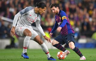 Virgil van Dijk calls his reported quotes lavishing praise on Lionel Messi 'fake news'