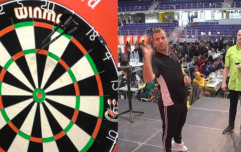 Rafael van der Vaart makes winning start to darts career before second round defeat