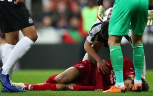 Mohamed Salah stretchered off after suffering nasty head injury against Newcastle