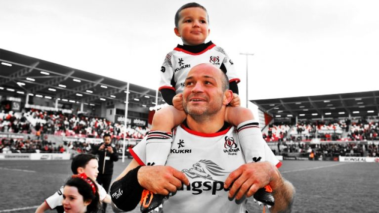 They came to say goodbye, but Rory Best and Ulster plough on
