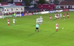 Sligo Rovers challenge Messi for free-kick of the week