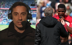 Gary Neville blasts Man United as they blow top four hopes at Huddersfield