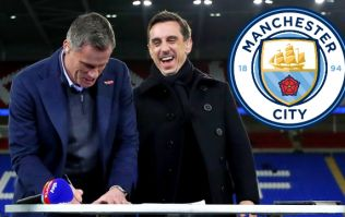 Carragher and Neville absolutely rinse Man City's 'Legends Lounge'