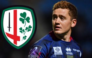 Paddy Jackson will be playing with London Irish next season