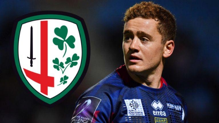 Paddy Jackson will be playing with London Irish next season