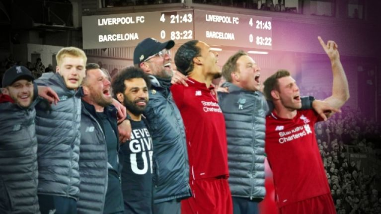 Miracle Men: Liverpool's pounding heart pulverises Barcelona