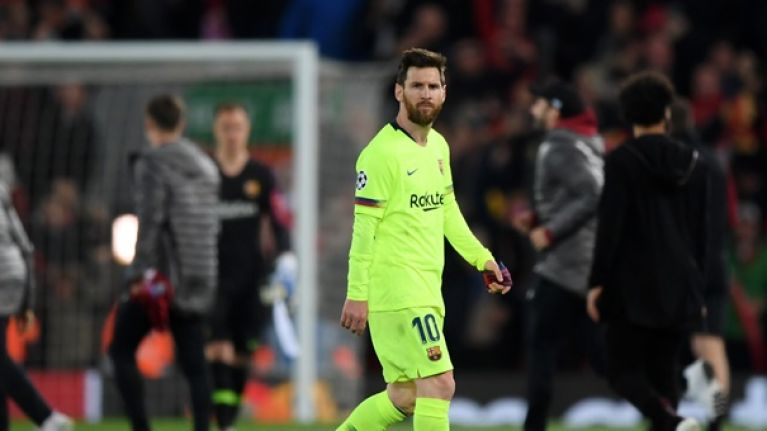 'They're this team of beta-males looking to Lionel Messi'
