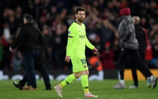 Liverpool ballboy gave Lionel Messi the finger during celebrations after comeback against Barcelona