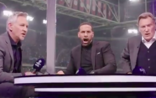 Rio Ferdinand almost shoved Glenn Hoddle out of studio during delirious Spurs celebrations