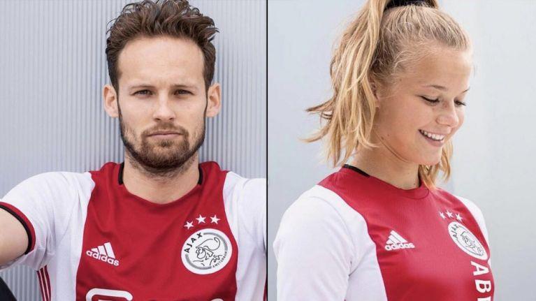 Ajax unveil stunning new home jersey