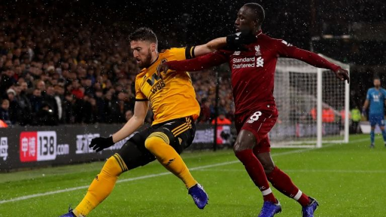 Matt Doherty promises to respect title race when Wolves travel to Liverpool