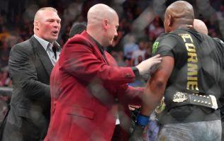 Dana White announces Brock Lesnar retirement, with Daniel Cormier set to rematch Stipe Miocic instead
