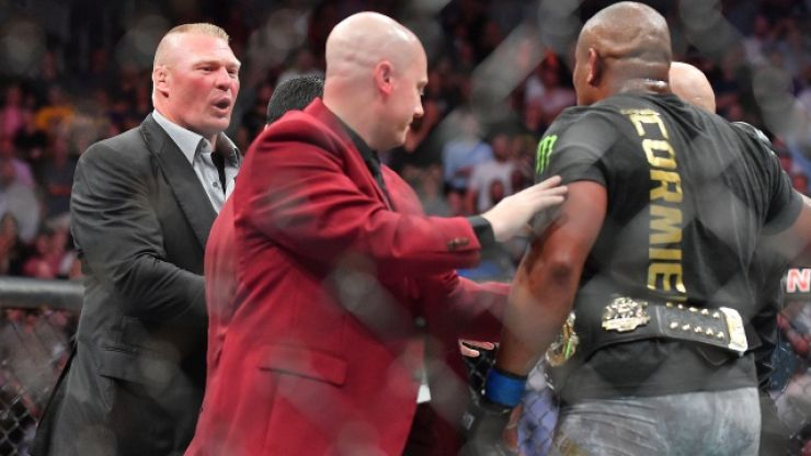 Dana White announces Brock Lesnar retirement, with Daniel Cormier set to rematch Stipe Miocic instead