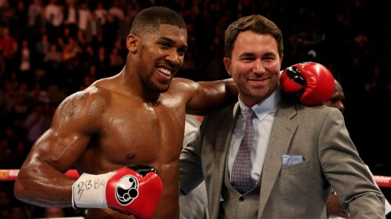 Eddie Hearn reveals the truth behind Luis Ortiz's offer for Anthony Joshua fight