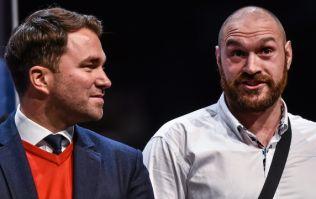 Eddie Hearn claims Tyson Fury didn't follow through on purse donation promise