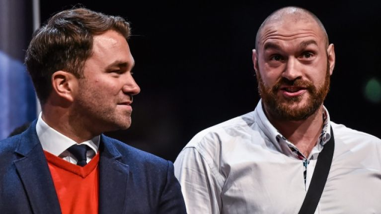 Why I Didn't Sign Tyson Fury – Eddie Hearn